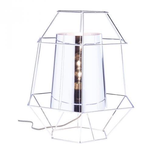 Bordslampa Wire Silver