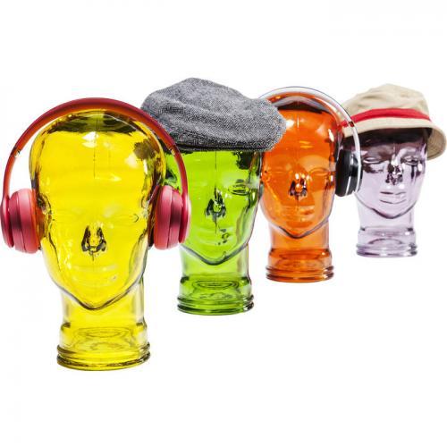 Hörlurställ Headphones Gul