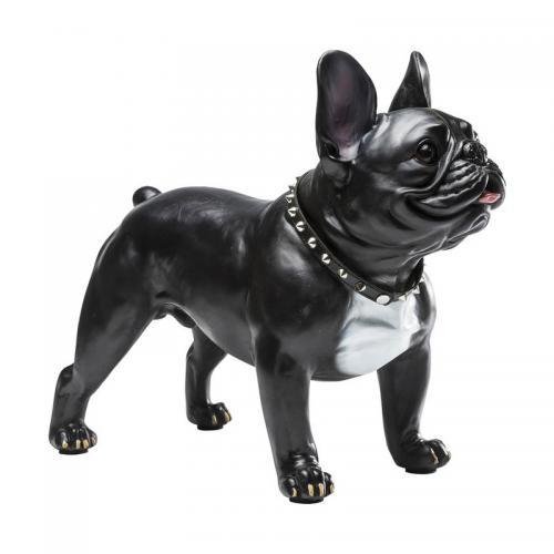 Dekorfigur Gangsterhund, 50 cm