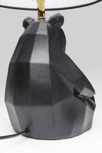 Bordslampa Panda, svart