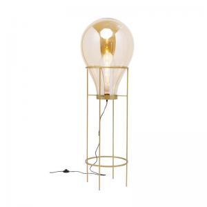 Golvlampa Pear, Guld 158 cm