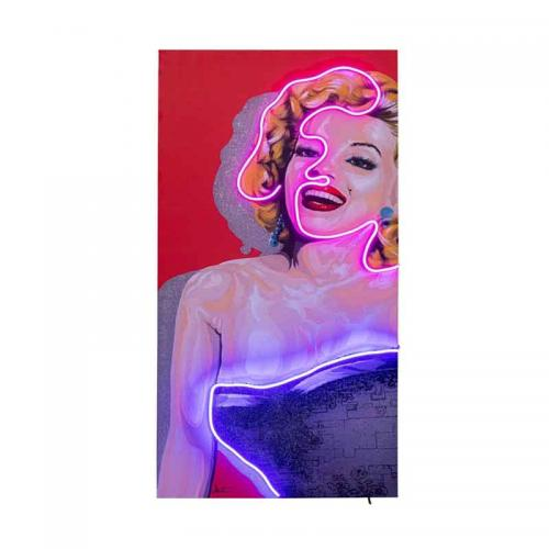 Neontavla Marilyn 160x80 cm