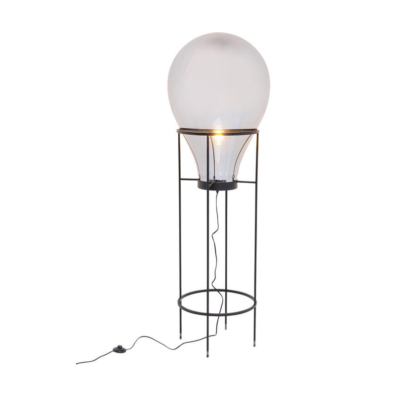 Golvlampa Pear Svart, 158 cm