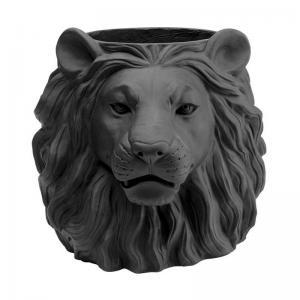 Kruka Lejon, matt svart