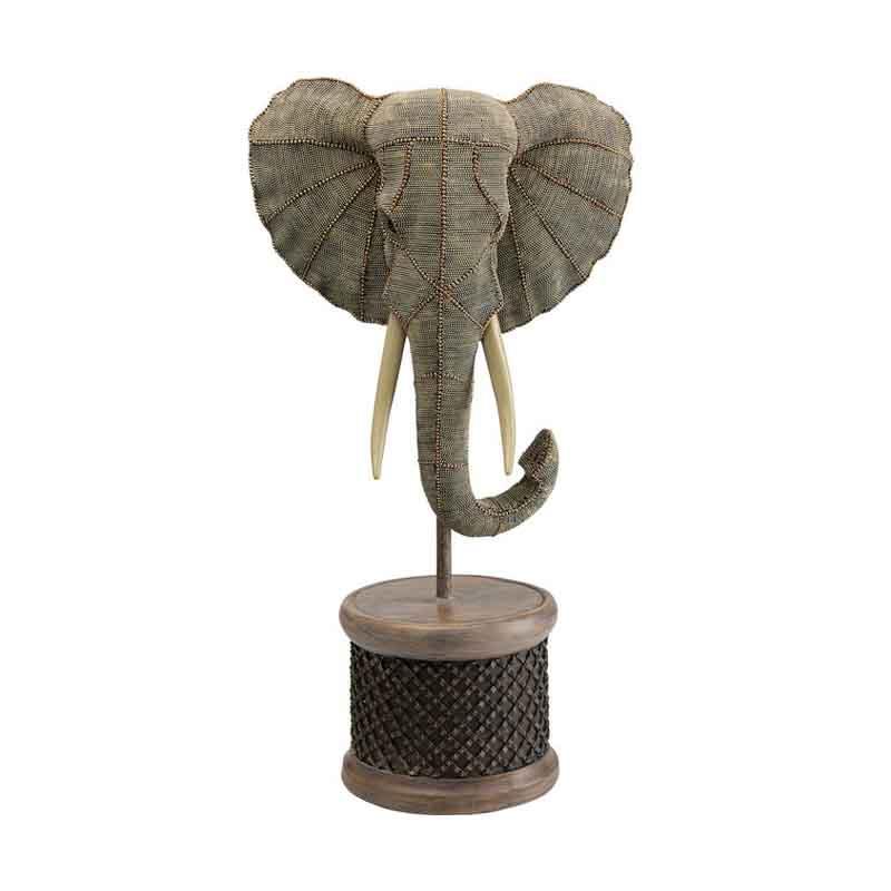 Skulptur Dekor Elefant, 76 cm