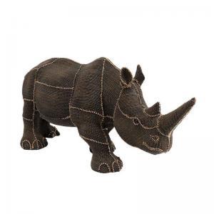 Skulptur Dekor Noshörning