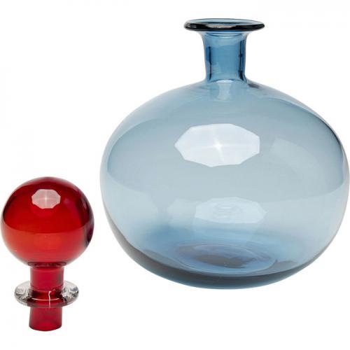 Karaff | Vas Oriental Blå, 25 cm
