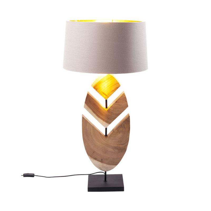 Bordslampa Blad, trä