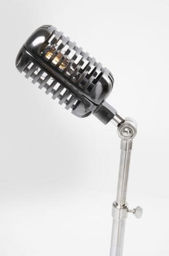 Golvlampa Retro Mikrofon