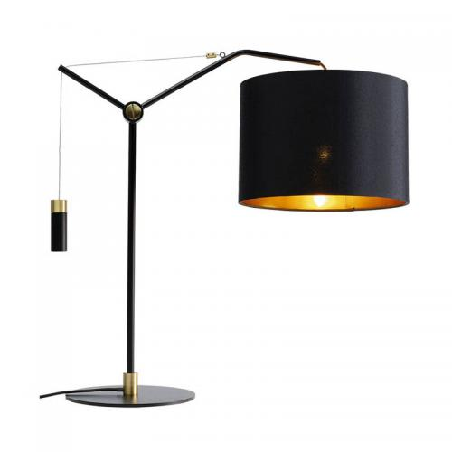 Bordslampa Salotto Svart