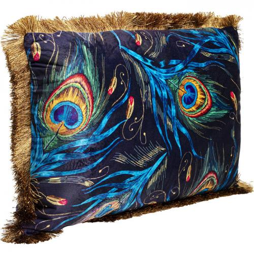 Kudde Påfågel Frans, 40x60 cm