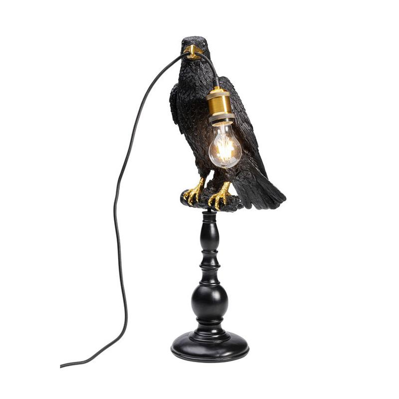 Bordslampa Svart Korp