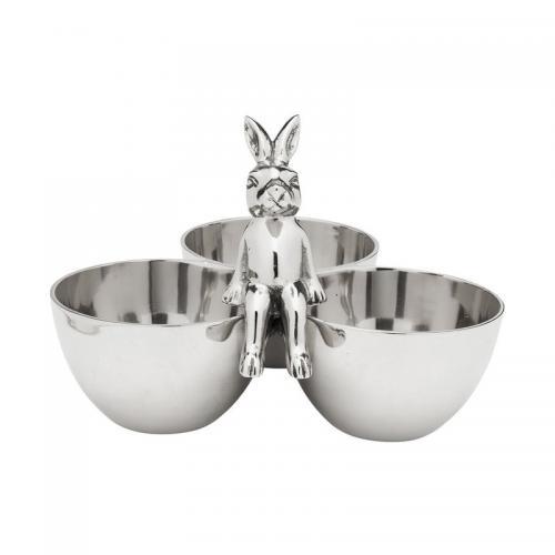 Skål Bunny silver