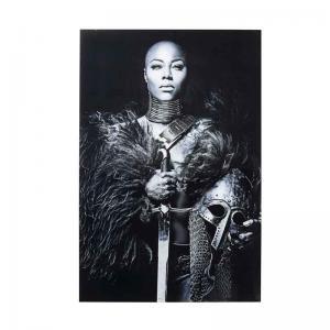 Fototavla | Glastavla Lady Knight 150x10...