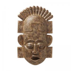 Väggdekor Afrikansk mask, 90 cm