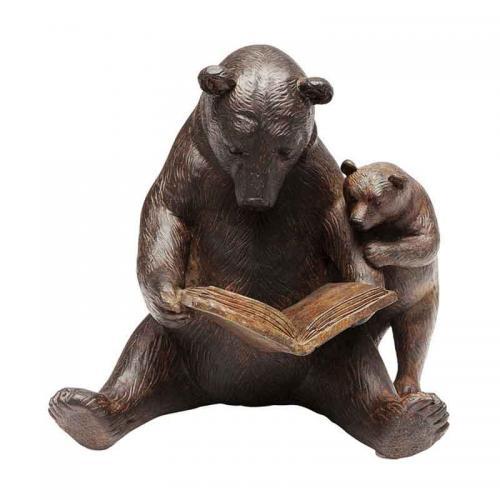 Skulptur Björnar i sagostund