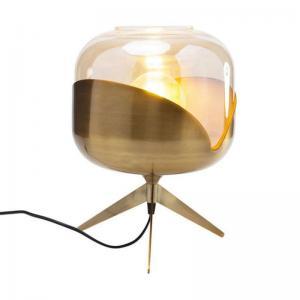 Bordslampa Meryll mässing rund