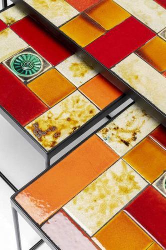 Småbord Lisboa Keramik, 3 set