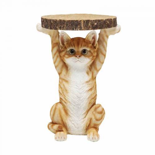 Litet Sidobord Katt
