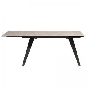 Matbord Stone Grey, utdragbart 160-240 cm