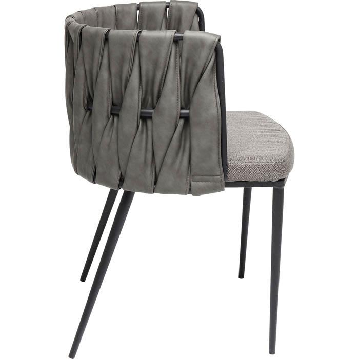 En elegant och modern stol med skön sittkomfort - som mötesstol och matstol