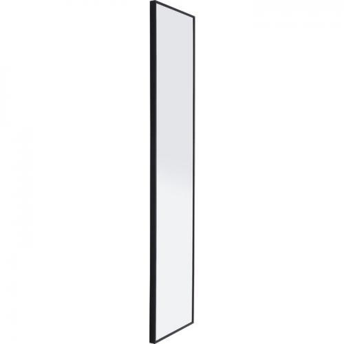 Spegel Zack, Svart ram 180 cm