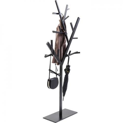 Klädhängare Tree, matt svart