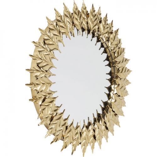 Spegel Guldblad 76 cmØ