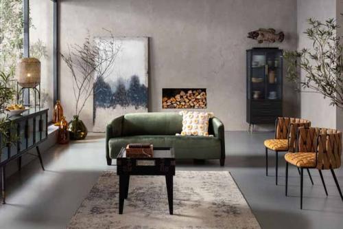 Soffa Cigar Lounge Grön