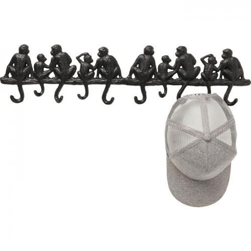 Hängare | Krokar Apor på gren, 10 st