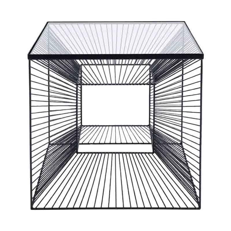 Sidobord Graphic Glas