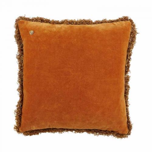 Kuddfodral i god kvalitet från Jakobsdal, orange sammet.