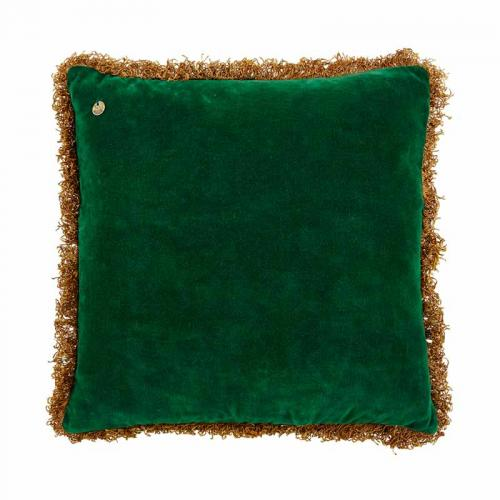 Kuddfodral i god kvalitet från Jakobsdal, grön sammet.