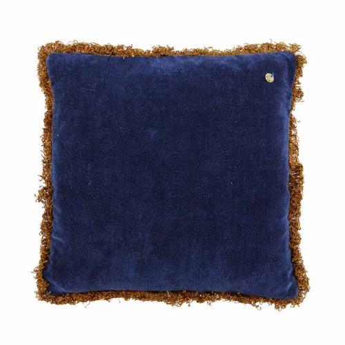 Kuddfodral i god kvalitet från Jakobsdal, blå sammet.