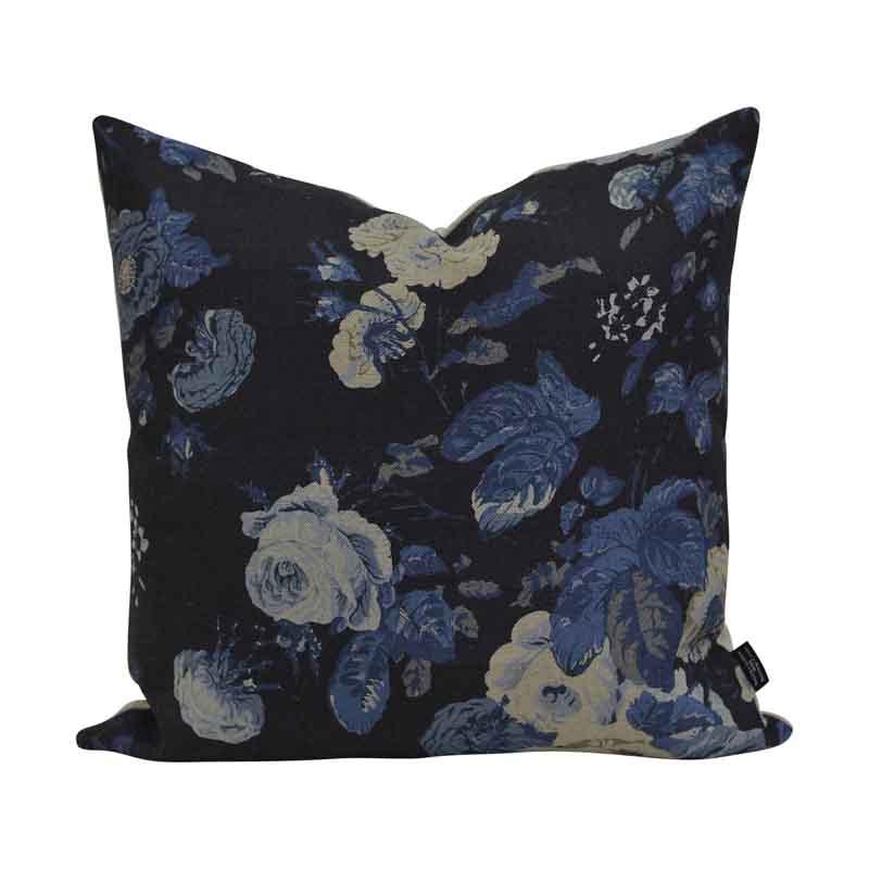 Kuddfodral Tallulah Floral Blå, 45 cm