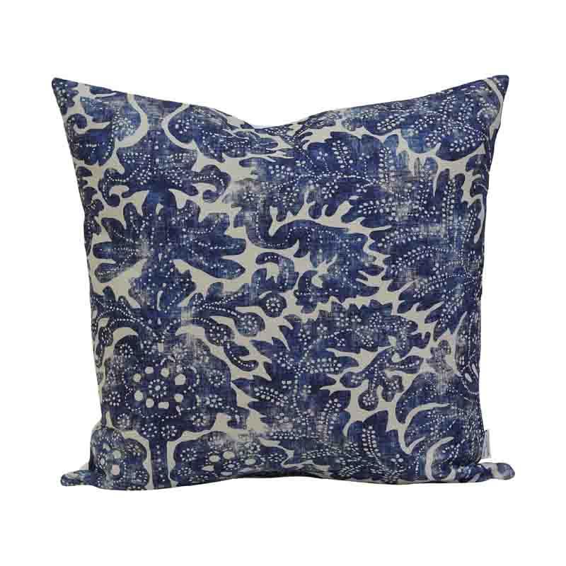 Kuddfodral Pigalle Batik Blå 45 cm