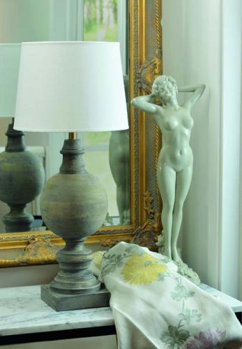 Lampfot Bordslampa Percy Grey