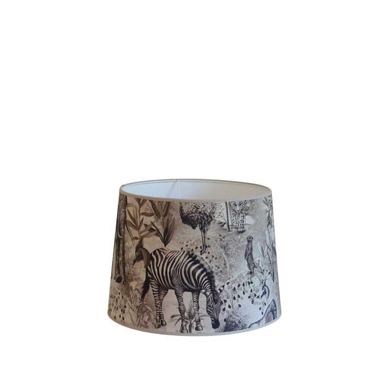 Lampskärm Ubangi Grå-beige 20 cmØ