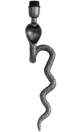 Vägglampett Cobra Antik silver