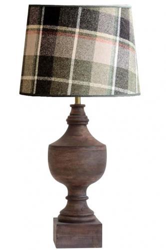 Lampfot Nomad, trä