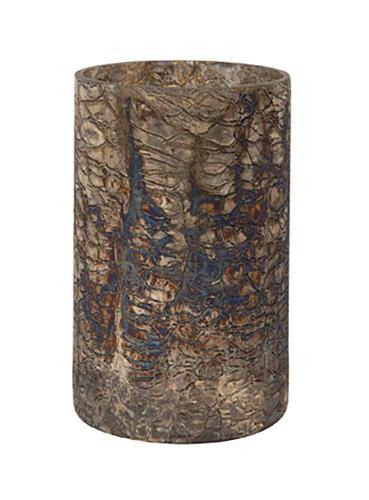 Ljuslykta Rusty, glas 20 cm.
