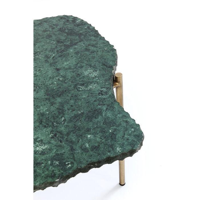Soffbord Huggen Marmor Grön