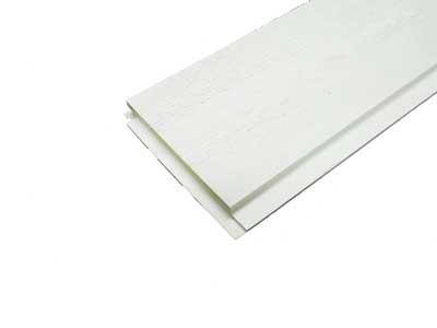 15 X 110 finsågad panel, vit