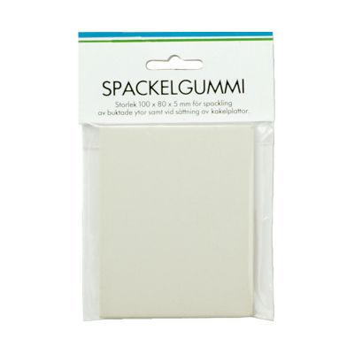 Spackelgummi 100x80x5 mm