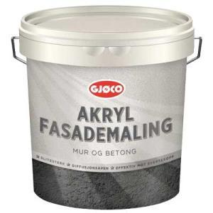 Akryl Fasadfärg Vit