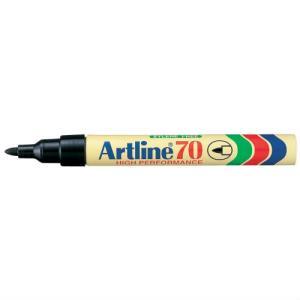 Märkpenna svart Artline 70