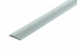 Självh.nivå. 40x2-15 mm,Silver,180cm