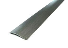 Nivålist 40x0-15 mm Silver 180 cm