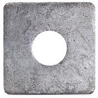 Fyrkantsbricka 17,5x50x5 mm,galv