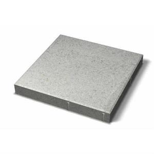 Hel platta fasad 400x400x50, Grå
